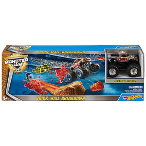 Hot Wheels® Monster Jam® Brick Wall Breakdown™ Track Set
