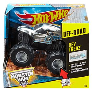 Hot Wheels® Monster Jam® Rev Tredz® New Earth Authority™ Police Vehicle