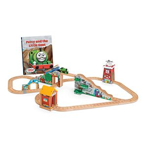 Thomas & Friends™ Wooden Railway Percy and the Little Goat Set
