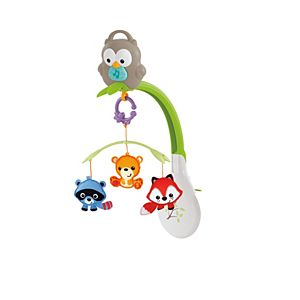 Woodland Friends 3-in-1 Musical Mobile