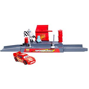 Disney Cars Piston Cup Pit Stop Play & Race Launcher