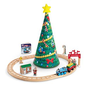 Thomas & Friends™ Wooden Railway Thomas' Christmas Wonderland Set