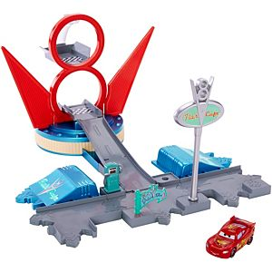 Disney•Cars Jump & Race Flo's V8 Playset