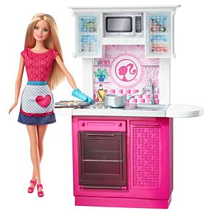 Barbie® Doll and Deluxe Kitchen