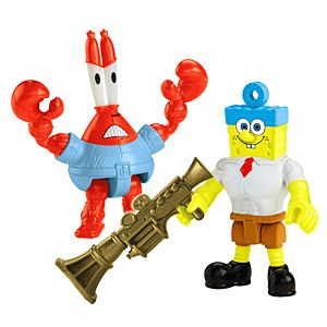 Imaginext® Nickelodeon SpongeBob SquarePants Invincibubble & Sir Pinch-a-lot