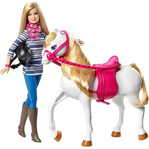 Barbie® Doll and Horse