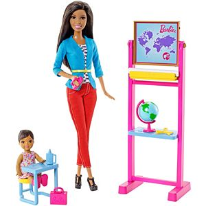 Barbie® Careers Teacher Nikki Doll and Playset