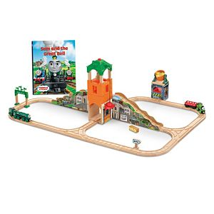 Thomas & Friends™ Wooden Railway Sam and the Great Bell Train Set