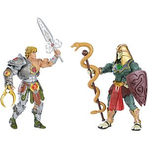 Masters of the Universe® Snake Armor™ He-Man® & Battle Armor® King Hsss™ Figures