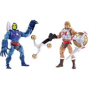 Masters of the Universe® Flying Fists He-Man® & Terror Claws Skeletor® Figures