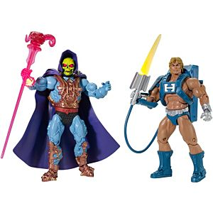 Masters of the Universe® Laser Power He-Man® & Laser Light Skeletor® Figures