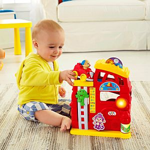 Laugh & Learn™ Monkey's Smart Stages™ Firehouse