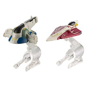Hot Wheels® Star Wars® Slave 1™ Vs. Jedi Starfighter™ Starship 2-Pack