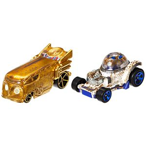 Hot Wheels® Star Wars™  2 Car Pack - C-3PO and R2-D2