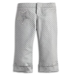 Cuffed Dot Jeggings for 18-inch Dolls