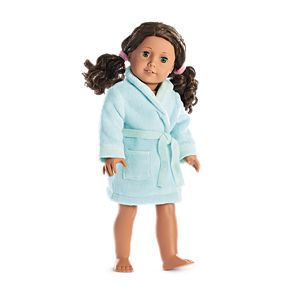 Sparkle Spa Robe for 18-inch Dolls