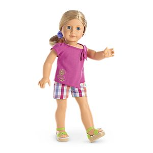 Sunshine Garden Outfit for 18-inch Dolls