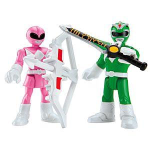 Imaginext® Power Rangers Green Ranger & Pink Ranger