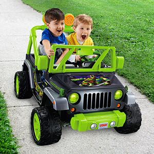 Power Wheels® Teenage Mutant Ninja Turtles™ Jeep® Wrangler