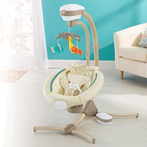Soothing Savanna Cradle 'n Swing