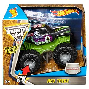 Hot Wheels® Monster Jam® Rev Tredz® Grave Digger® Truck - 1:43 Scale