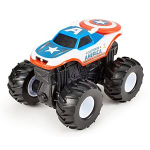 Hot Wheels® Monster Jam® Rev Tredz® Captain America™ Vehicle