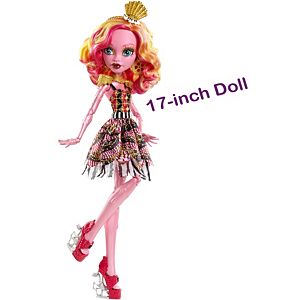 Monster High® 17 Inch Tall Freak Du Chic™ Gooliope Jellington™ Doll