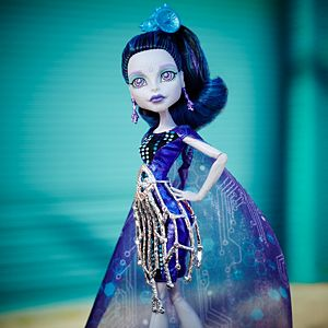 Monster High™ Boo York, Boo York Gala Ghoulfriends™ Elle Eedee™ Doll