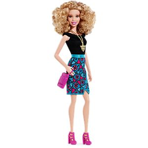 Barbie® Fashionistas® Doll Leopard Print Skirt