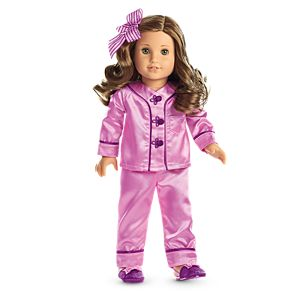 Rebecca's Satin Pajamas for 18-inch Dolls