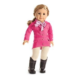 Pretty Pink Riding Outfit for Dolls