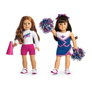 2-in-1 Cheer Gear for 18-inch Dolls