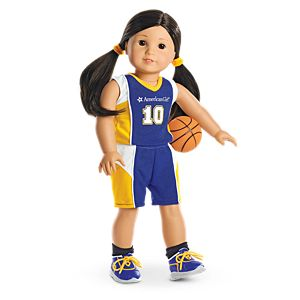 Basketball Outfit for 18-inch Dolls