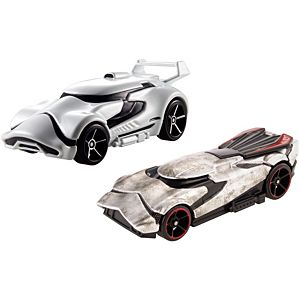 hot wheels captain phasma first order stormtrooper character car