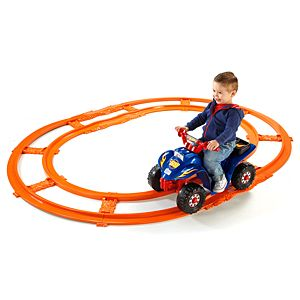 Power Wheels® Hot Wheels™ Lil' Quad™ with Track