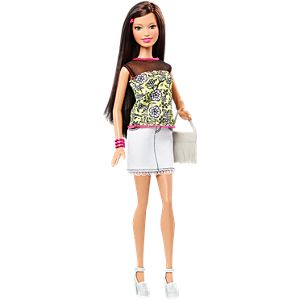 Barbie Fashionistas Raquelle Doll