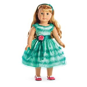 Maryellen's Birthday Dress for 18-inch Dolls