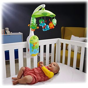 Rainforest Friends Smart Connect™ 2-in-1 Projection Mobile