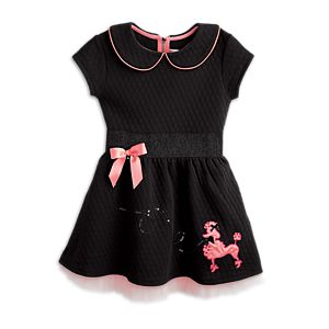Pretty Poodle Dress for Girls