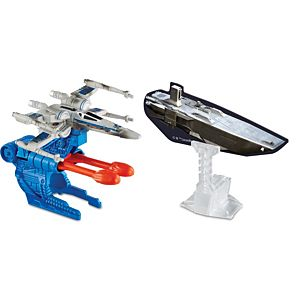 Hot Wheels® Star Wars® Blast Attack™ Resistance X-Wing Fighter™ Starship