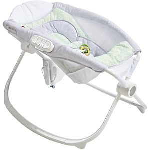 Deluxe Newborn Auto Rock 'N Play™ Sleeper with Smart Connect™ - Isle Stone