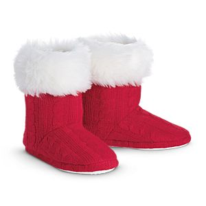 Knit Booties for Girls