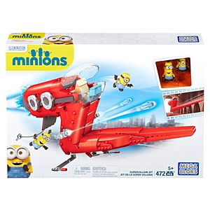 Mega Bloks® Minion Movie Supervillain Jet