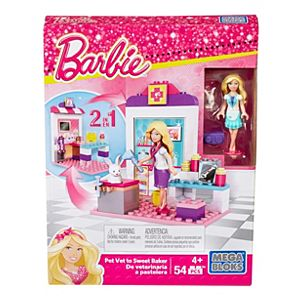 Mega Bloks® Barbie™ Pet Vet to Sweet Baker