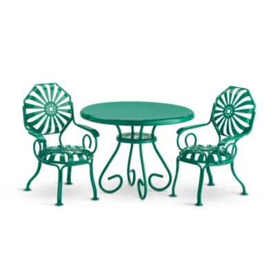 - Kit's Table & Chairs BeForever American Girl