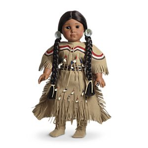 Kaya's Deerskin Outfit for 18-inch Dolls