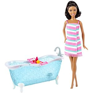 Barbie® Nikki™ Doll & Bathtub