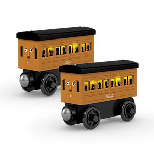 Thomas & Friends™ Wooden Railway Light Up Reveal Annie & Clarabel Multi-pack