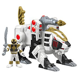Imaginext® Power Rangers™ White Ranger and Tiger Zord