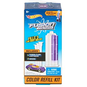 Hot Wheels® Fusion Factory™ Color Refill Kit Accessory